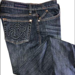 ROCK & REPUBLIC Kasandra Womens  Sz 10 Denim Jeans